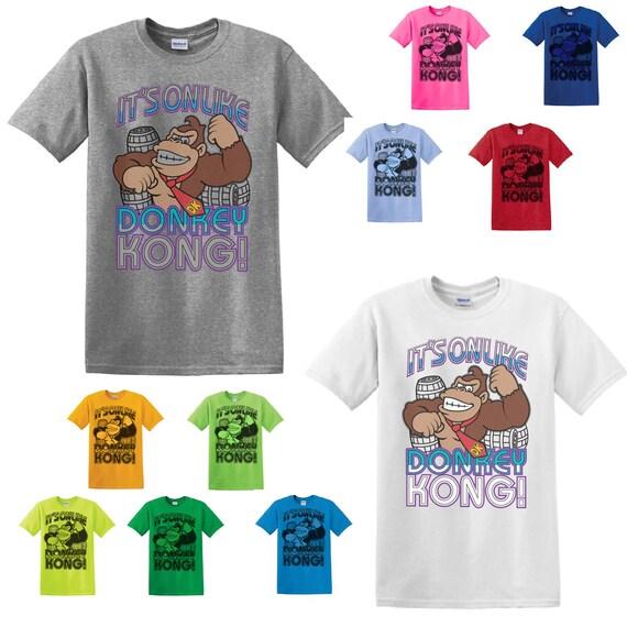 It's On Like Donkey Kong Gamer T-shirt for Men, Ladies, Kids