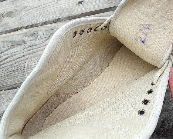 Sowjetischen Teenager Turnschuhe Vintage jungen Turnschuhe USSR Gummi russischen Sport Schuhe 1989 blau rot Sneaker Größe 37 (Russland)