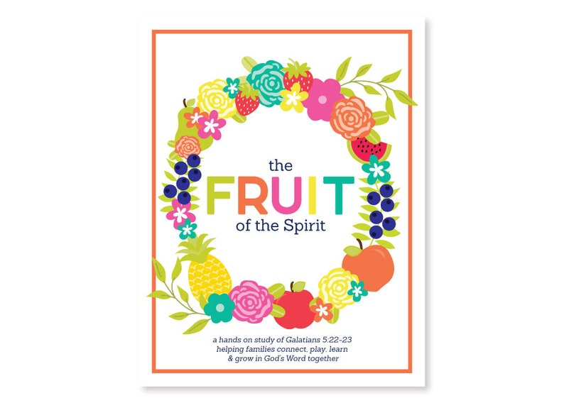 PRINTABLE Fruit of the Spirit Bible Activity Pack  Bible image 0
