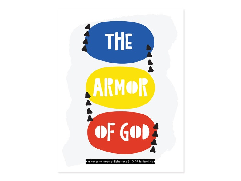 PRINTABLE The Armor of God Activity Pack  Bible Activity  image 0