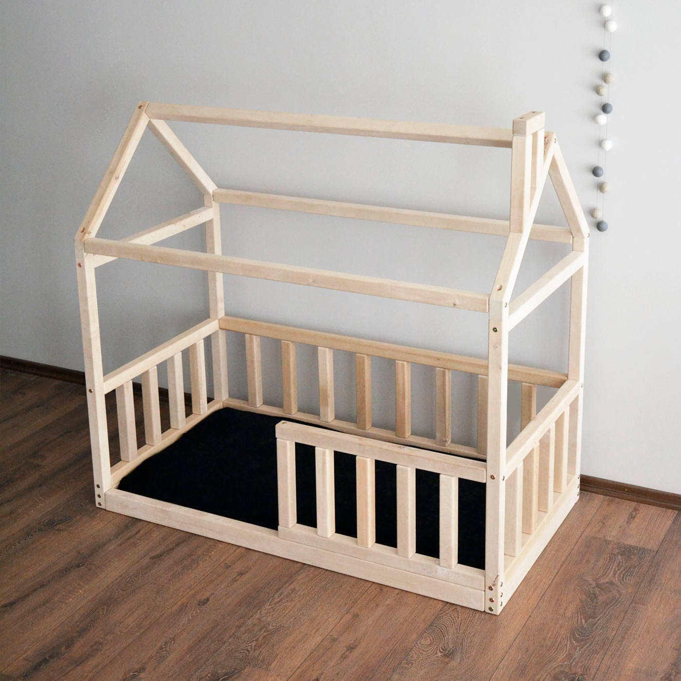 Haus Bettrahmen Kleinkind-Bett Montessori Babybett