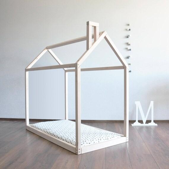Completa o cama matrimonial casa marco niño Montessori cama | Etsy