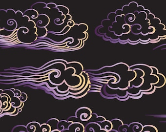 Purple Cloud,Purple wave,Drawn Wind,Hand-drawn clouds,Painted by hand wave,Cloud cartoon,Cartoon wave,Purple curls,Drawn curls,Kids Clipart