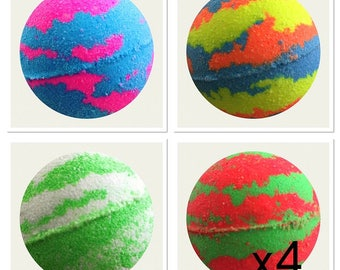 BULK BUY 4X Aromatherapy Bath Bombs,Bubble Bath,Bath Fizzies,Bulk Bath Bombs,Luxury Bath Treat