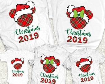 Family Christmas Pajamas 2019.Family Christmas Pajamas Disney Etsy