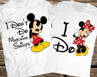Funny disney couple shirts 8ea424da1