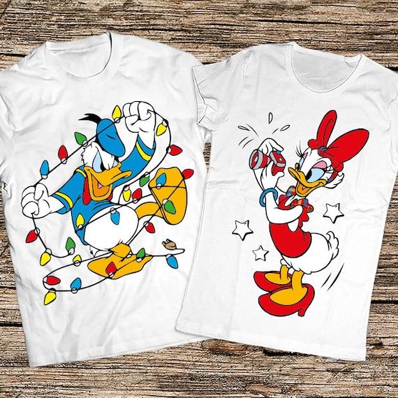 Couple Christmas Shirts Gift Disney