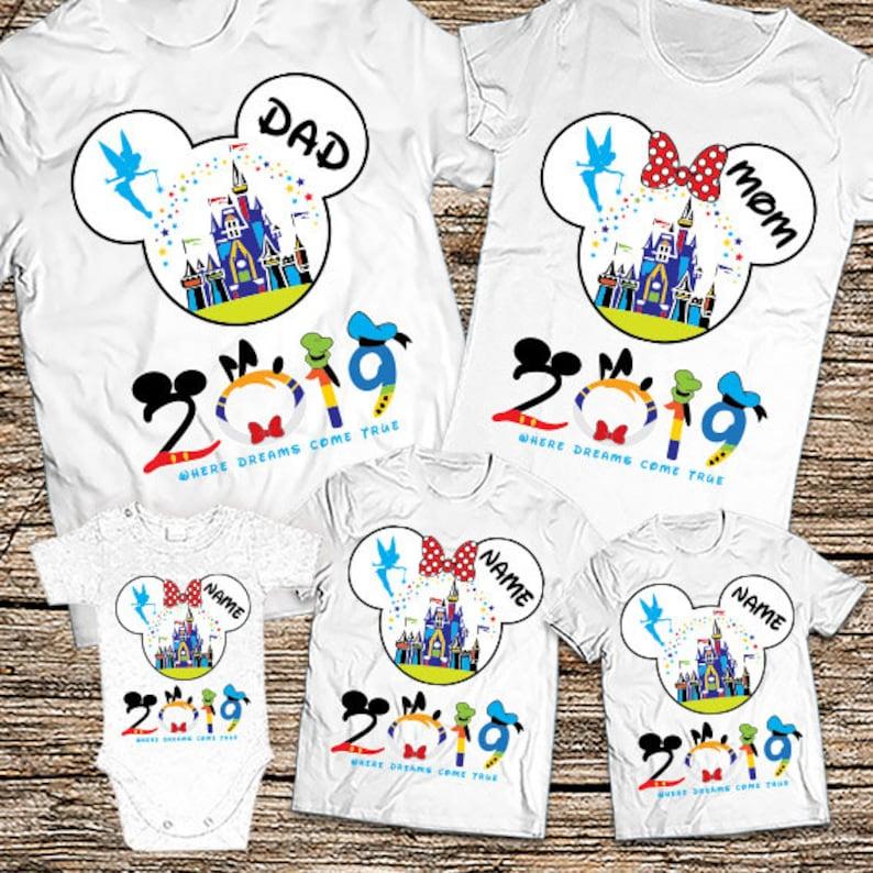 bcf79c63 Family disney shirts 2019 Disney Family Shirts 2019 Matching | Etsy