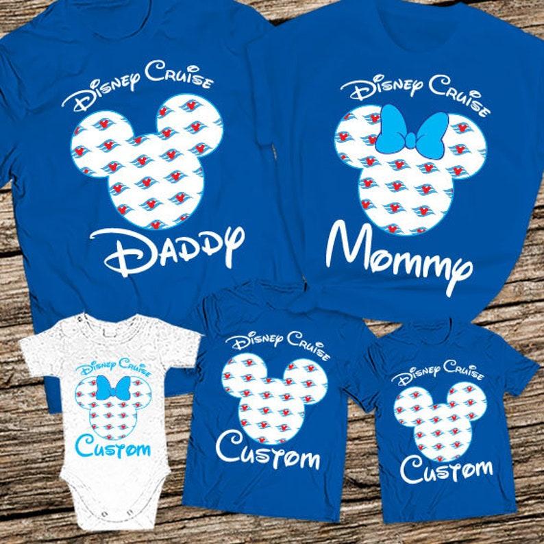 75f14a10 Mickey and Minnie family cruise shirts 2019 Custom Disney   Etsy
