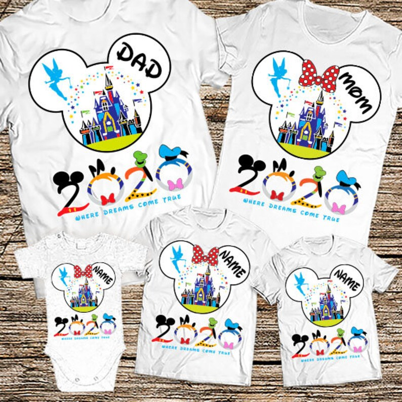 1eeabb2b Disney family shirts 2020 Personalized Disney Vacation Shirts | Etsy