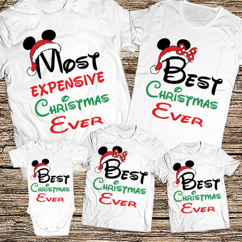 09271372 Most Expensive Christmas Ever Family shirts Funny Disney | Etsy