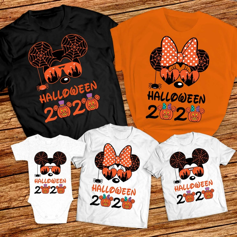 Etsy Disney Halloween Shirts 2020 Halloween disney family shirts 2020 Mickey halloween shirt   Etsy