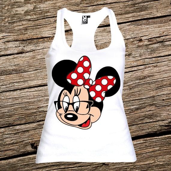 Minnie Mouse Disney Fashion Sleeveless Tank Top-Super Star