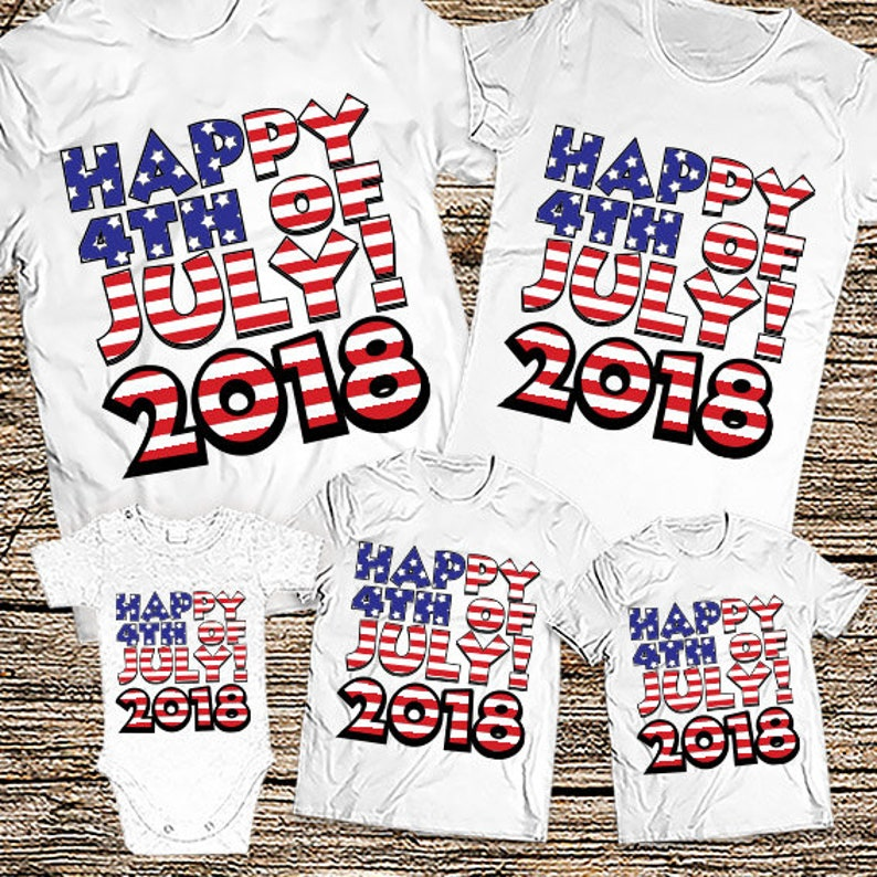 a73ffda708f Happy 4th of July shirts 2019 4th of July family shirts