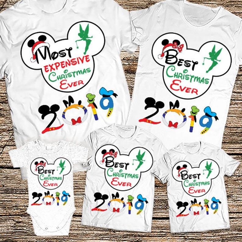 73ad7bc9 Funny Disney Christmas Family Shirts 2019 Most Expensive | Etsy