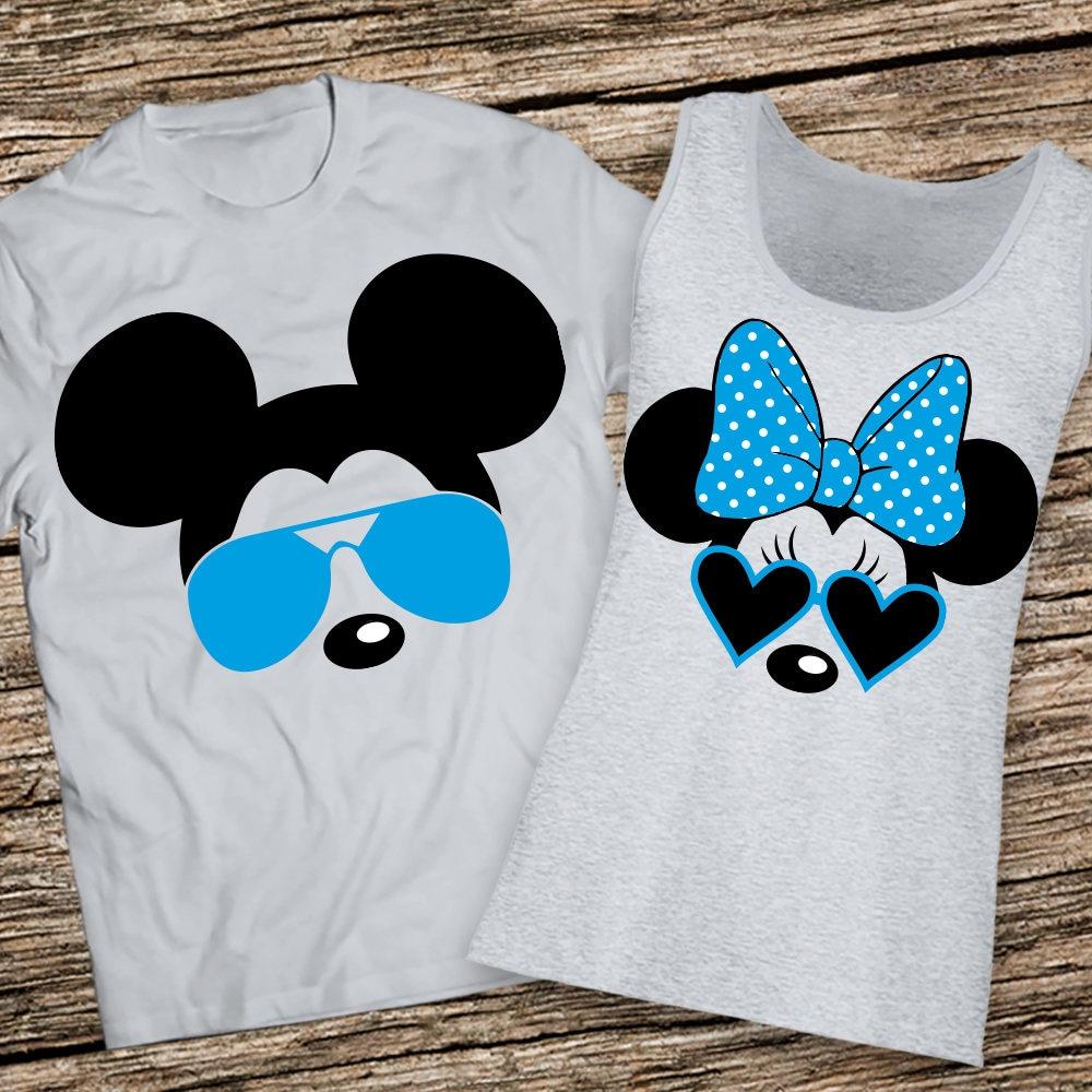 fea0d1e0fc68f Matching disney couple tanks Disney Couple Shirts