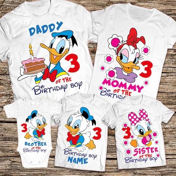 Disney Birthday Family Shirts Boy Shirt