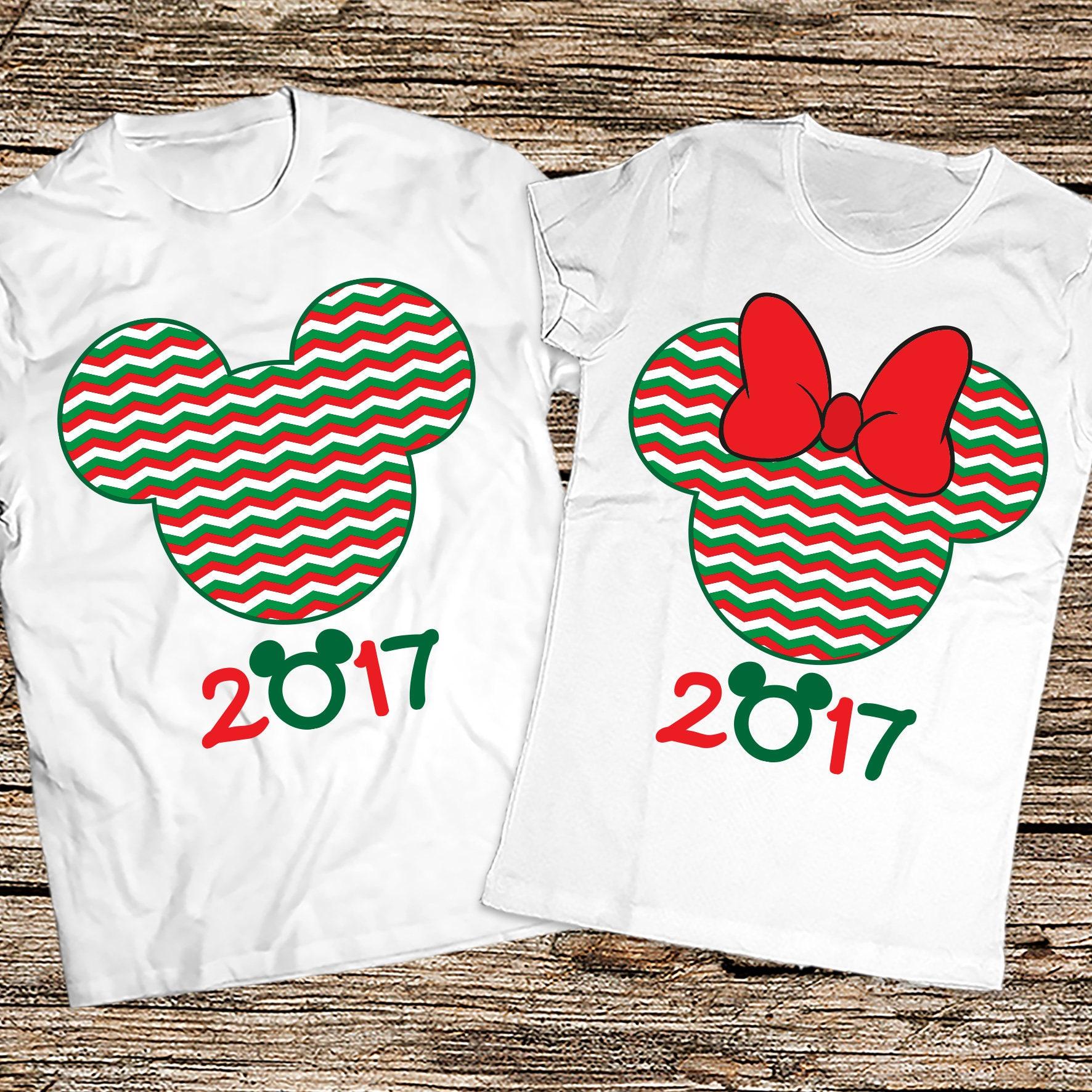 Disney couple Christmas shirts 2017 Disney Christmas ...