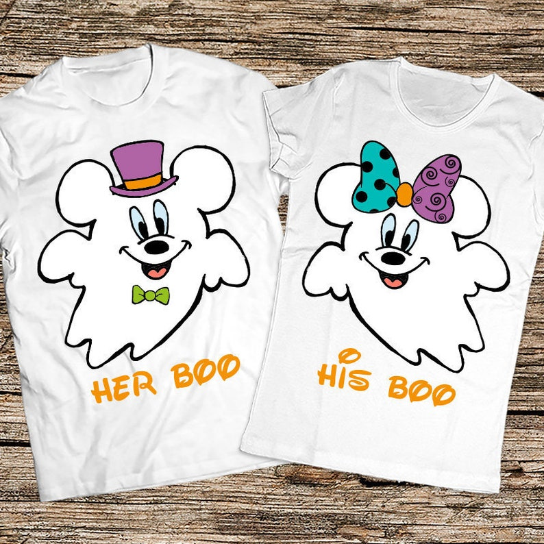 47850bb244c7 His Boo Her Boo Halloween Shirts Matching Halloween shirts | Etsy