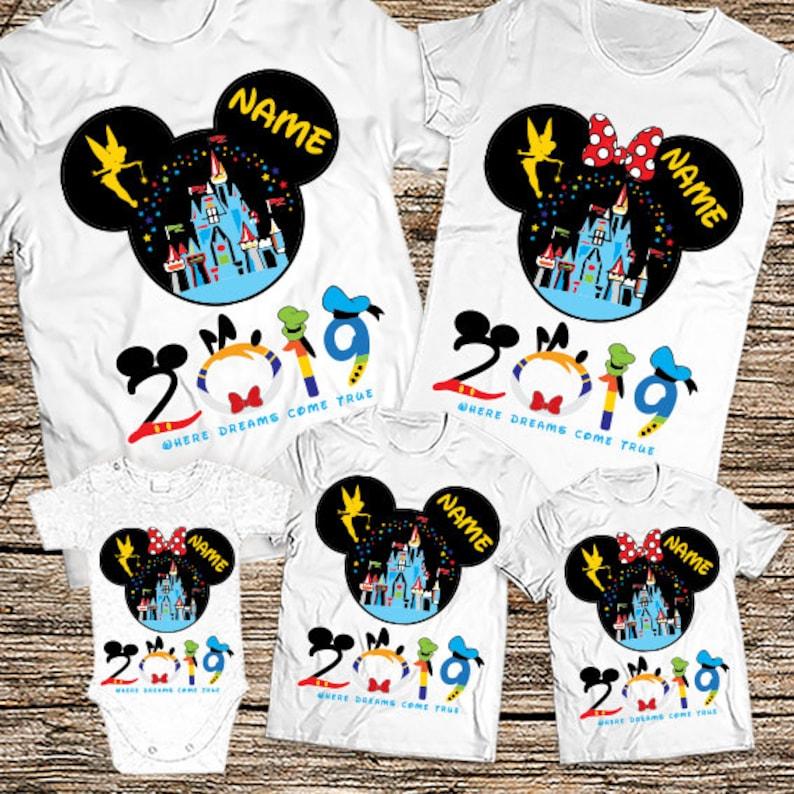 3f1854ac1 Disney Family Vacation T shirts 2019 Mickey and Minnie Family