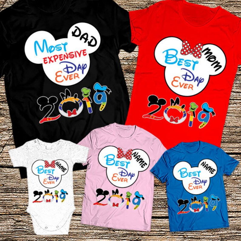 a2cc3a29c Most Exprensive Day Ever Family shirts Funny Disney Family | Etsy