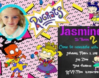 Rugrats Party Invites.... Rugrats Party... Rugrats Invitations