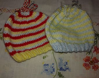Baby Beanies Stripped