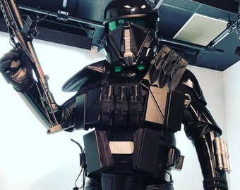 Death Trooper FINISHED Armor 3D-Printed Custom Fit Rogue One Fan made Star Wars Stories Replica Prop
