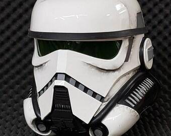 Imperial Patrol Trooper Helmet WEATHERED SOLO Star Wars Stories Replica Prop