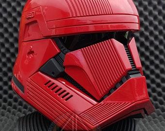 Sith Trooper Helmet feat. Star Wars The Rise of Skywalker Prop Replica