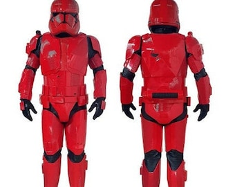 Sith Trooper Finished Armor 3D Printed Custom Fit Star Wars Episode 9 Replica Prop Rise of Skywalker