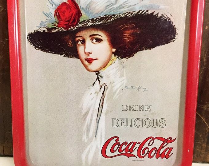 Hamilton King 1909 Lady Coca-Cola Tray (1971)