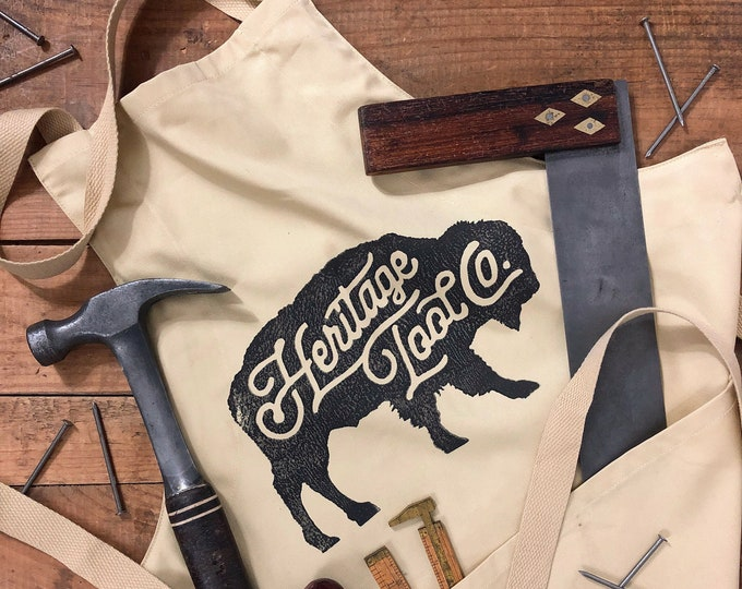 Heritage Tool Co. Buffalo Shop Apron