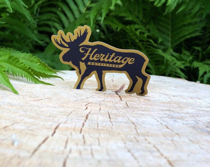 Heritage Outfitters Moose Sticker FREE SHIPPING!