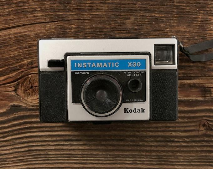 Kodak Instamatic X30 Film Camera Vintage Kodak Camera