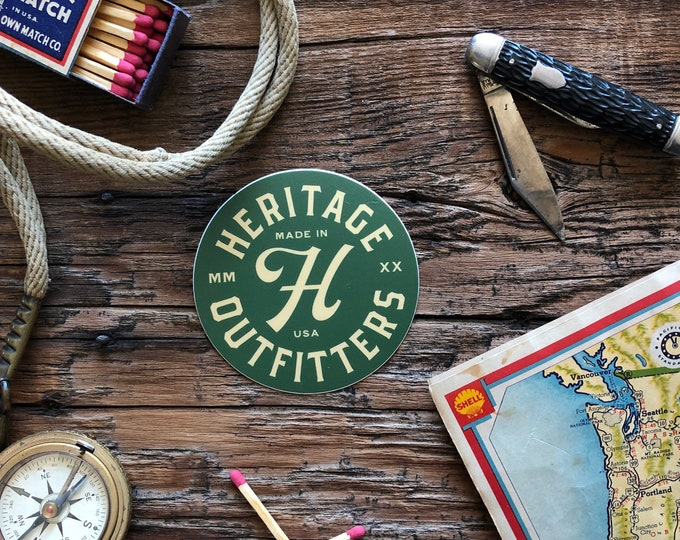 Heritage Outfitters Logo Sticker FREE SHIPPING!