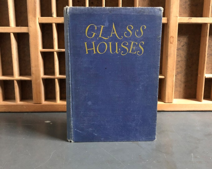 Glass Houses by Eleanor Gizycka Hardcover Book 1926