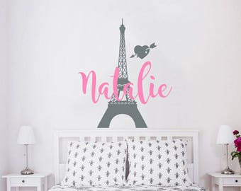Paris wall decals | Etsy
