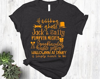 15ef389bbd1 Disney Halloween Shirt Halloween Disney Shirts Halloween Shirt Halloween  Shirt Women Halloween Shirt Halloween Tee Halloween at Disney Shirt