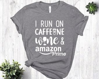 aa4cbdef879 Caffeine shirt | Etsy