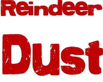 Reindeer Dust and Poem