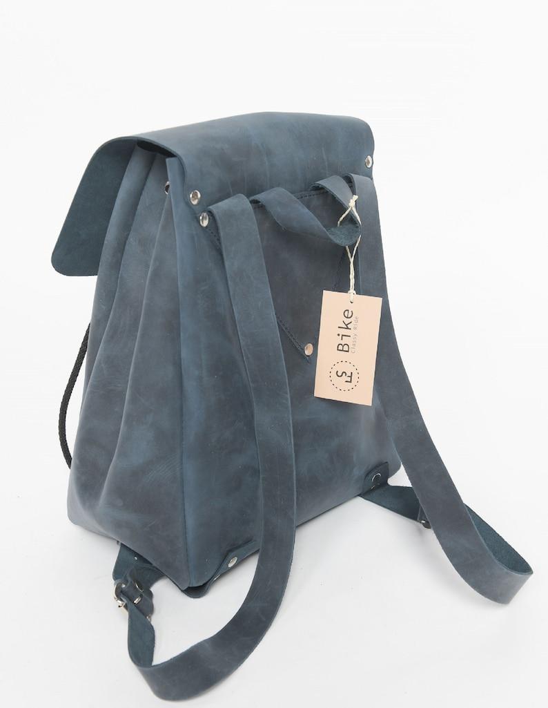 handmade FS Bike Leather backpack