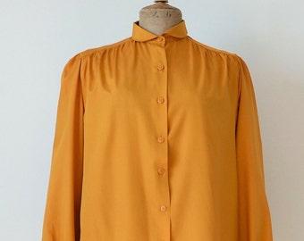 Mustard vintage blouse