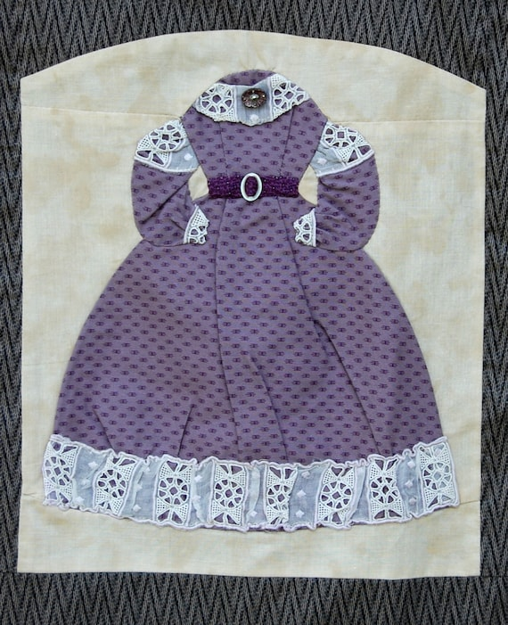 Designing Antebellum Dresses - Pattern for Civil War Dress Quilt or  Wallhanging by Jean Teal