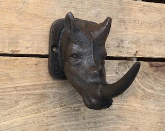 Rhinoceros Wall Hook
