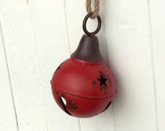 Metal Christmas Bells, Hanging Christmas Bell Decorations, Bell Ornaments, Christmas Decorations