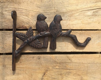 Planter Hook with Birds