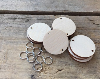 Wooden Circle Tags for the Family Celebrations Board