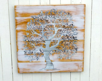Tree of Life Wooden Sign