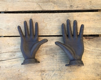 Pair of Hands Wall Hooks